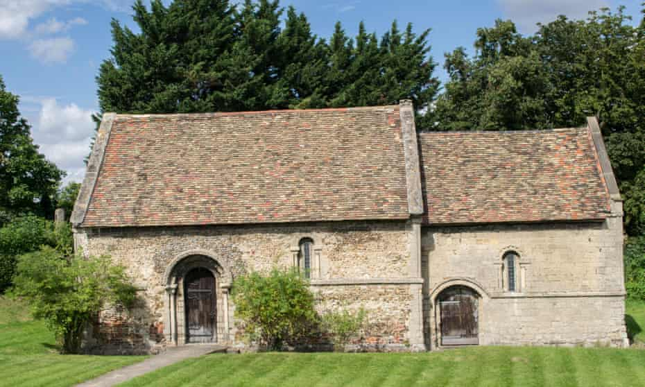 Cambridge's Leper Chapel, which still stands off Newmarket Road.