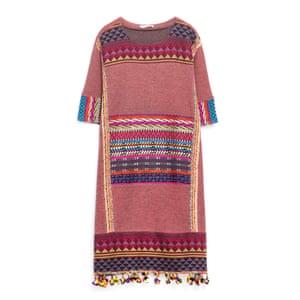 Multi dress, £29.99, zara.com.