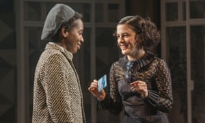 'A lot of Shakespeare's ingenues leave a lot to be desired' … Phoebe Fox as Olivia with Tamara Lawrance as Viola in Twelfth Night.