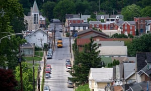 COATESVILLE, PA - June 6, 2018: A general scene of Coatesville, PA, the location of the Lukens Steel Mill, the oldest steel mill in commission within the United States, on June 6, 2018. CREDIT: Mark Makela for The Guardian