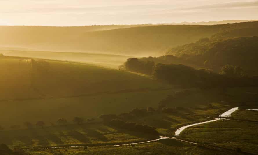 The Cuckmere valley.