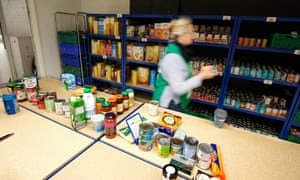 A food bank in Northampton
