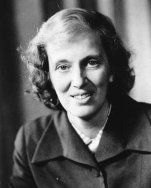 Dorothy Hodgkin.