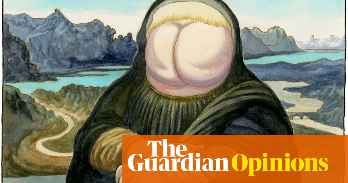Steve Bell on Boris Johnson's election as Tory leader - cartoon