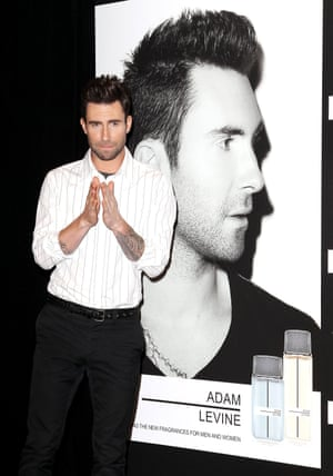 Adam Levine at his fragrance launch in New York, February 2013
