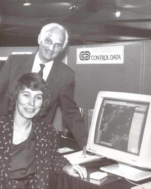 John Houghton with Virginia Bottomley