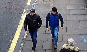Boshirov and Petrov on Fisherton Road, Salisbury, on 4 March 2018.