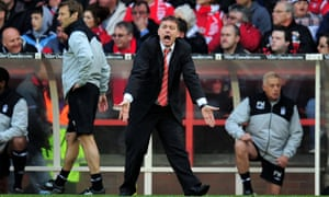 Billy Davies had two spells with Nottingham Forest and was sacked in March 2014 following a 5-0 defeat to local rivals Derby County