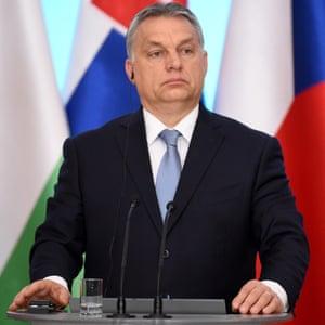 Hungary's hardline president, Viktor Orbán.