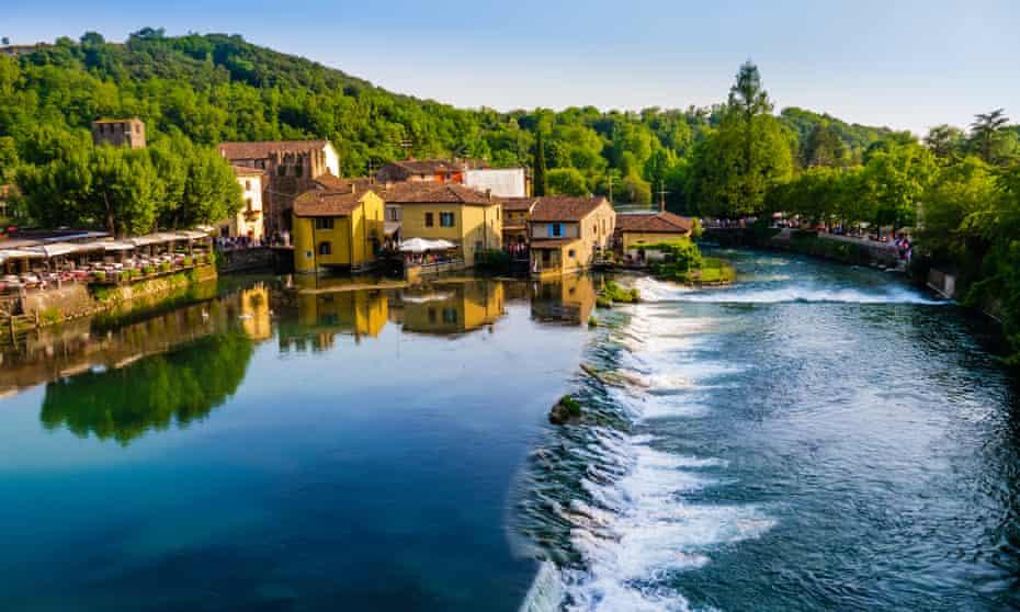 The Minicio river valley.