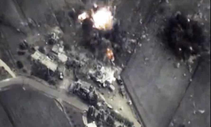 Russia Syria air strikes