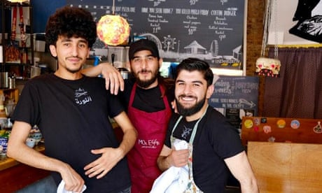 The Syrian refugees changing the UK's food scene