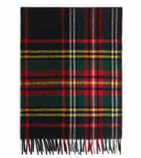 Checked wool scarf from Arket £39