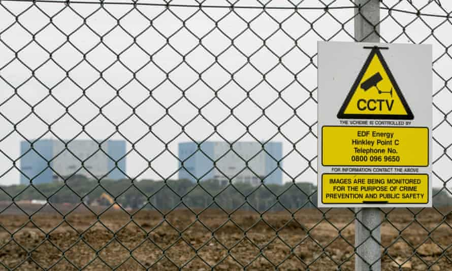 The Hinkley Point site.
