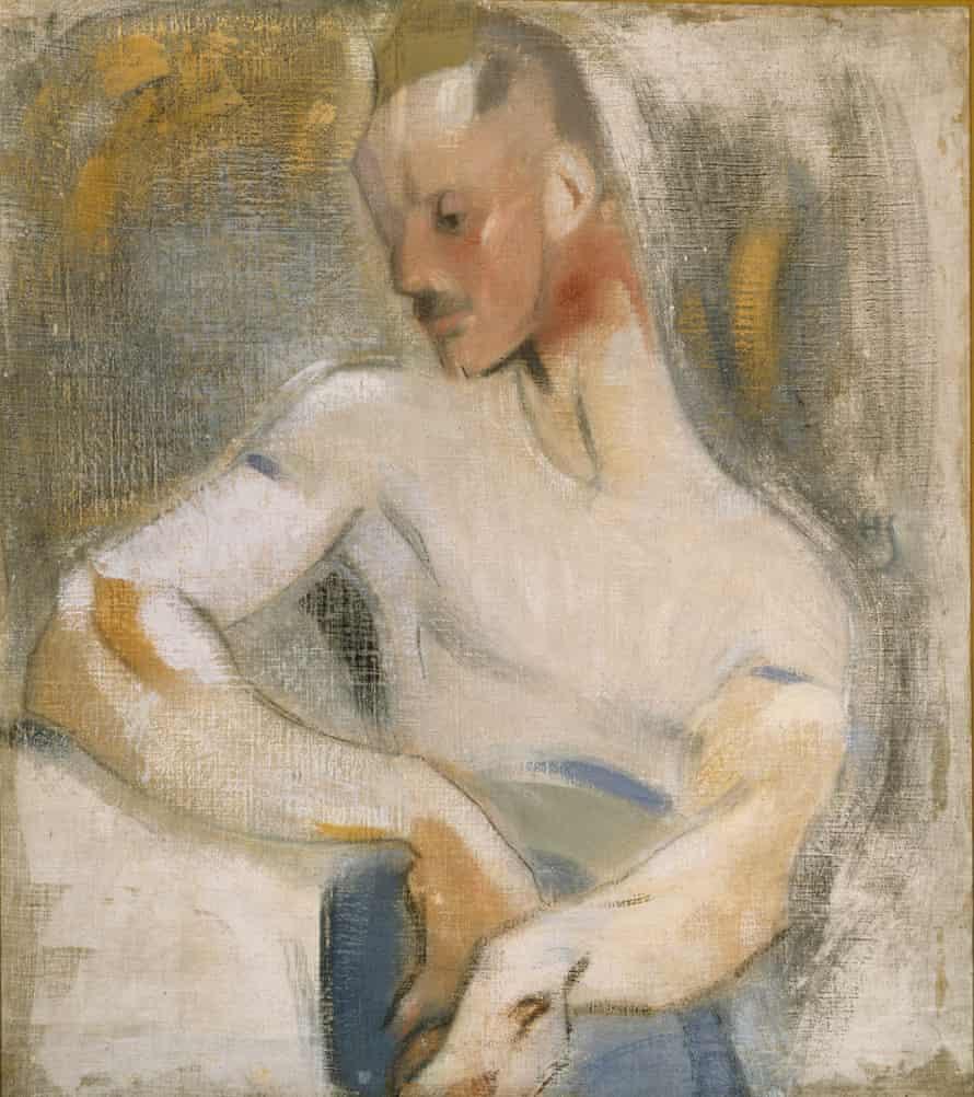 Helene Schjerfbeck, The Sailor (Einar Reuter), 1918.