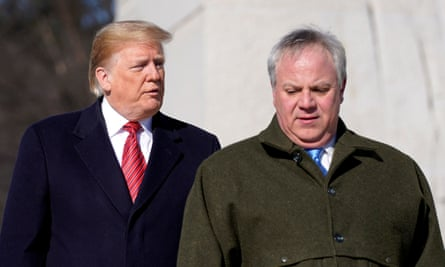 David Bernhardt, seen in January, formerly worked for the lobbying firm Brownstein Hyatt, which has promoted the project.