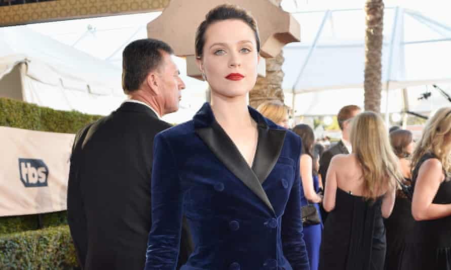 Evan Rachel Wood at the Screen Actors Guild awards on 29 January.