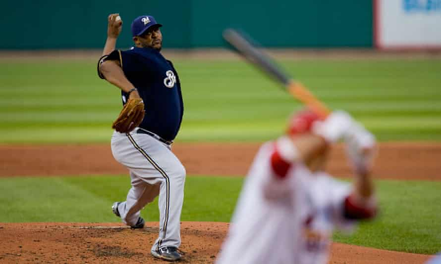 CC Sabathia was money with Milwaukee before getting paid by the Yankees.