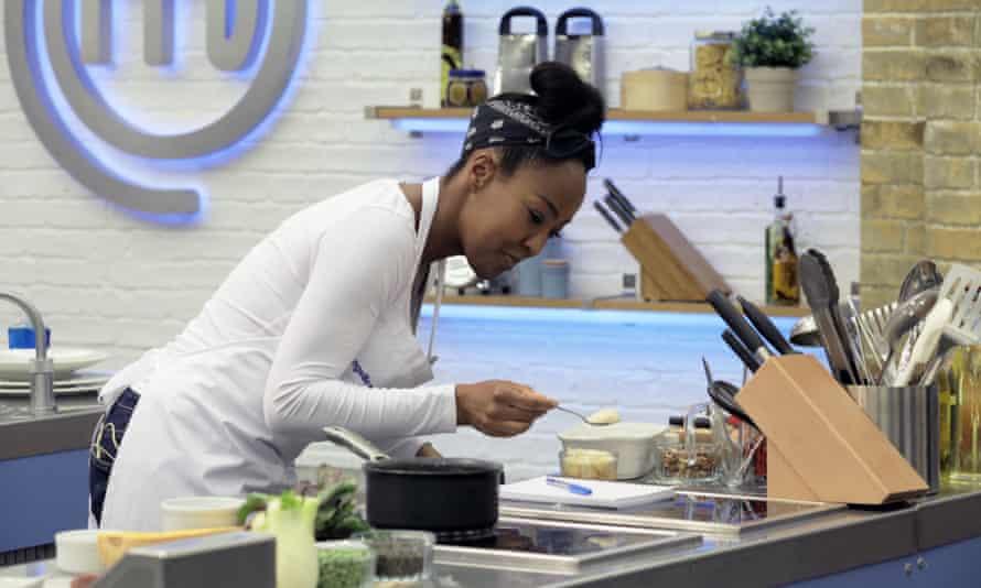 One show presenter Angellica Bell on Celebrity Masterchef.