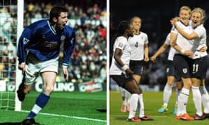Muzzy Izzet put Leicester 2-0 up against Derby in the second minute in 1998 and England's Toni Duggan, right, scored two goals against Turkey in the opening two minutes in 2013.