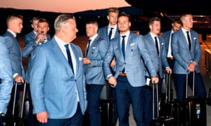 Iceland's boys in blue.