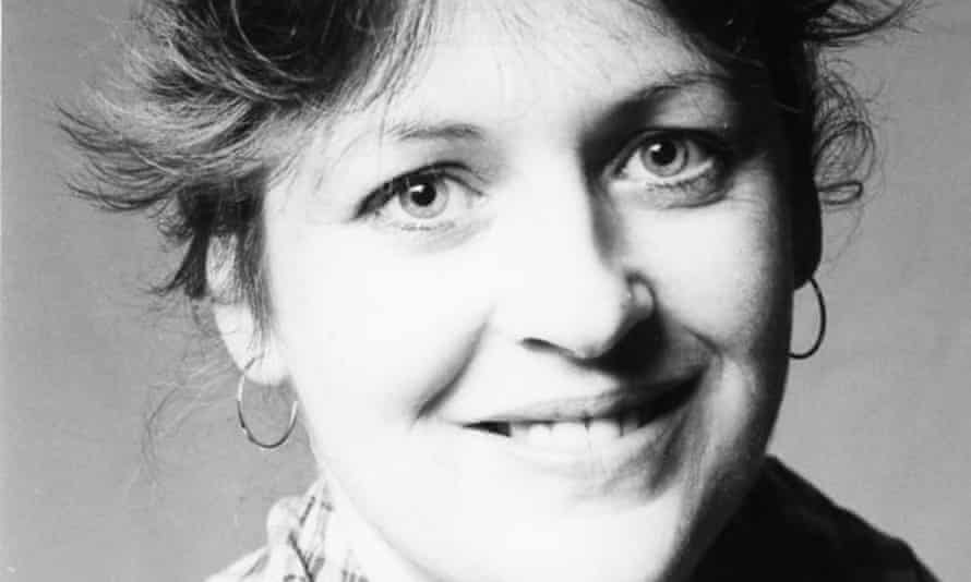 Judi Jackson in 1983, while standing as a candidate for election to Watford borough council
