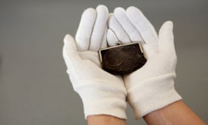 Emily Wilding Davison's purse, which she had with her when she was trampled to death by King George V's horse.