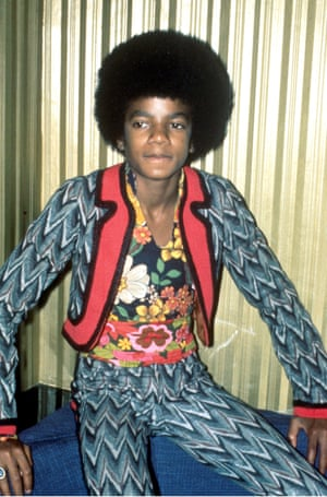 This picture of Michael Jackson, taken in 1972, could have come straight from Gucci designer Alessandro Michele's moodboard. The floral shirt, the zany patterned jacket and tight trousers all scream seventies.