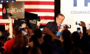 Texas senator Ted Cruz.