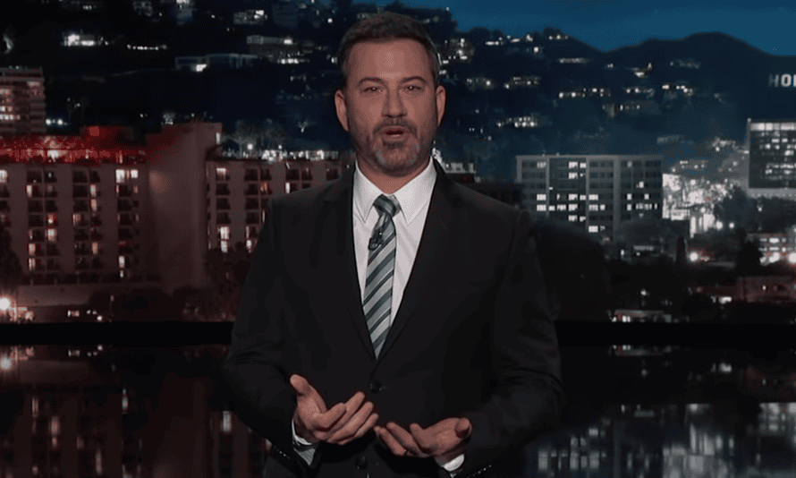'Donald Trump was in the fake news today' ... Jimmy Kimmel