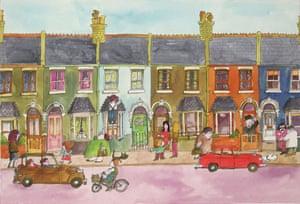 'I set it in my own street' … Mr Benn on Festive Road.