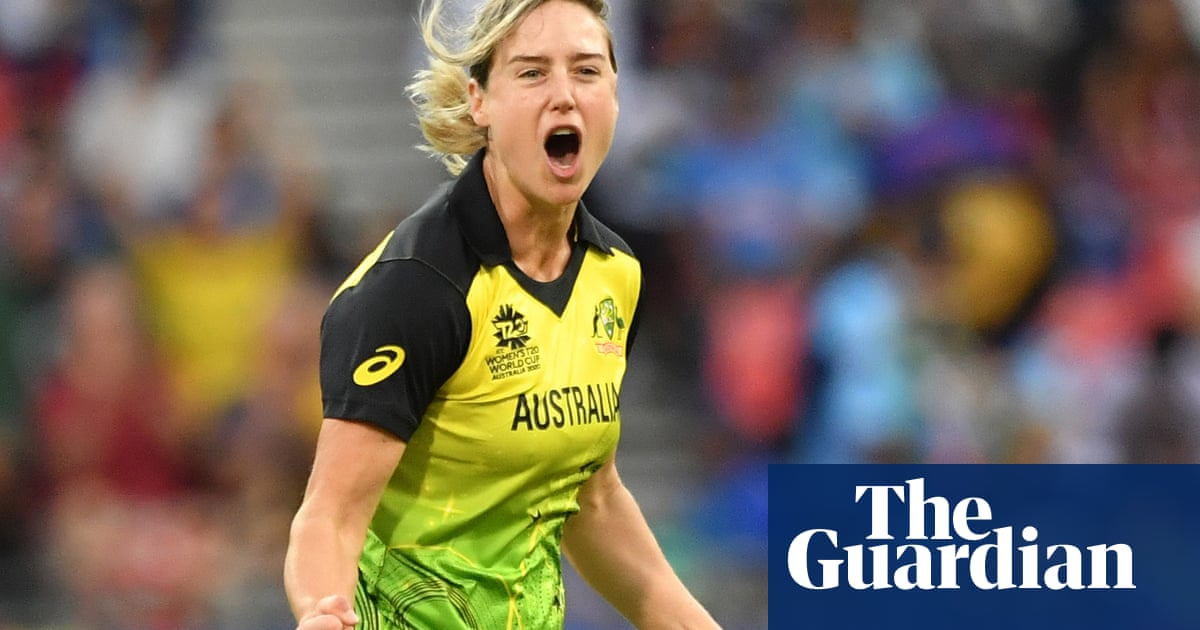 Ellyse Perry named ICCs greatest womens cricketer of the decade