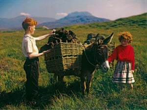 Collecting Turf from the Bog, Connemara, Co. Galway photograph by John Hinde