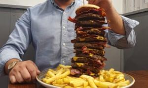 The Big Ben Number 10 burger