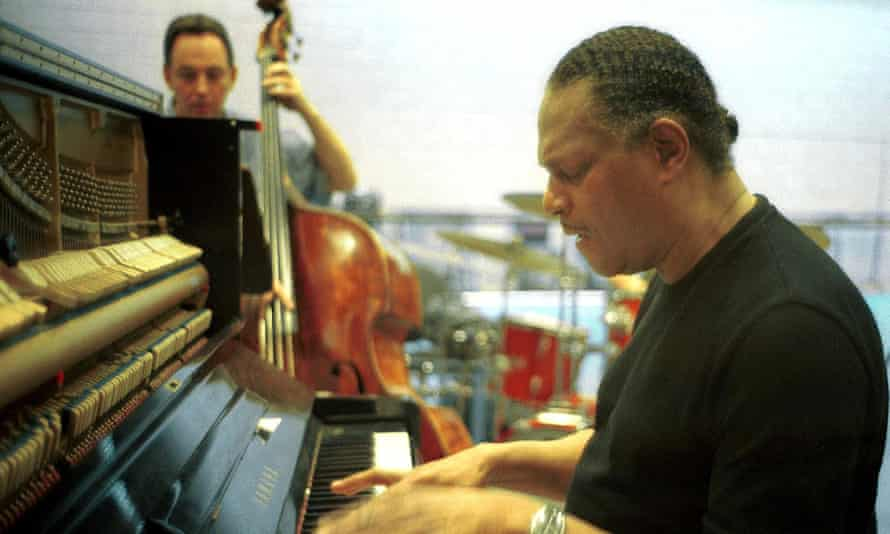 McCoy Tyner rehearsing in Tel Aviv, Israel, in 2000.