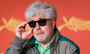 'I'm not a sacred cow' ... Pedro Almodóvar has defended his involvement in the Panama Papers – and in Cannes' competition.