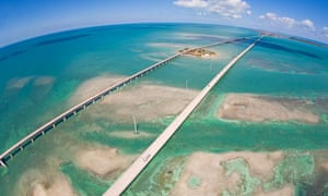 Pigeon Key, Seven Mile Bridge, Florida.