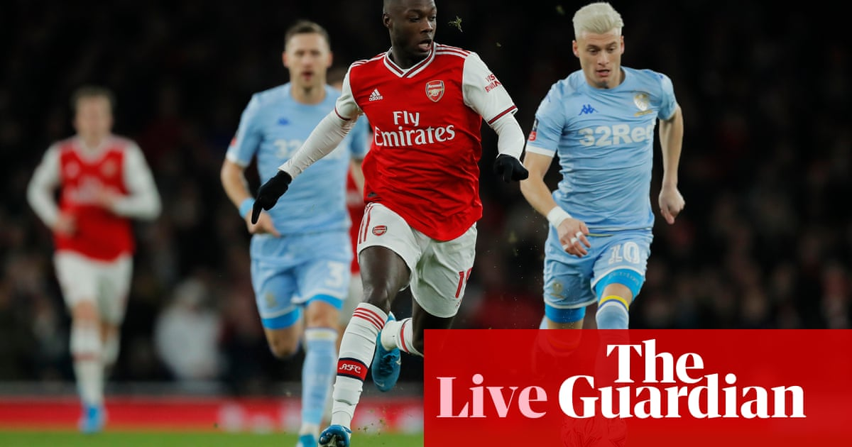 Arsenal v Leeds United: FA Cup third round – live!
