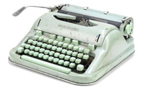 Sylvia Plath's Hermes 3000 typewriter, which sold for £26,000.