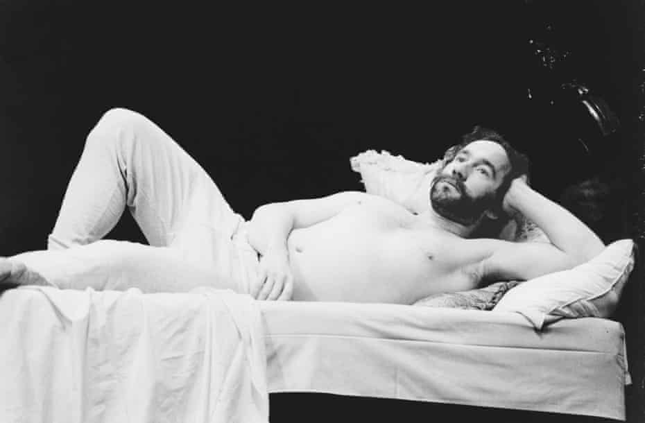 Simon Callow as Verlaine in Total Eclipse in 1981.