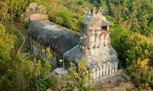 Gereja Ayam, known as the chicken church, near Magelang, Indonesia