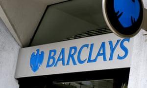 Barclays bank entrance