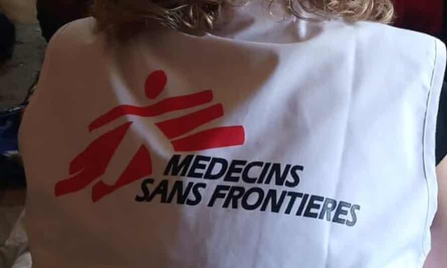 An MSF worker