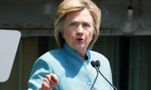 Presumptive Democratic nominee Hillary Clinton was secretary of state until 2013.