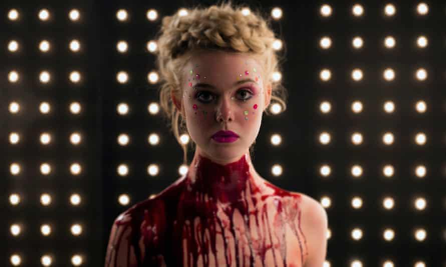 Elle Fanning in Nicolas Winding Refn's horror movie Neon Demon