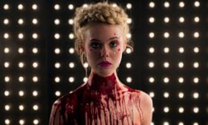 Ready to shine ... Elle Fanning in Nicolas Winding Refn's horror movie Neon Demon