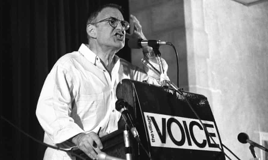 Crusading … playwright and rights activist Larry Kramer.