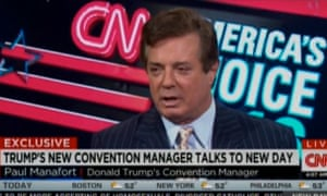Paul Manafort – Donald Trump's new righthand man.