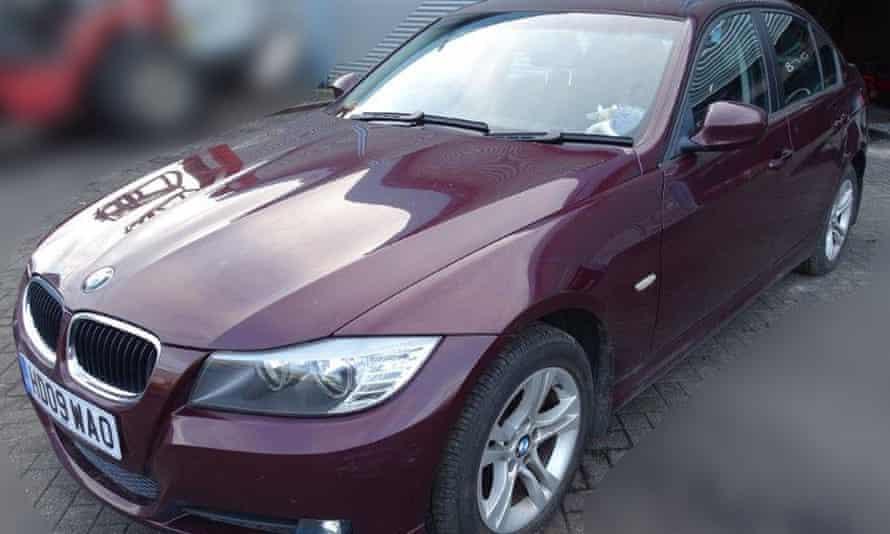 Sergei Skripal's BMW