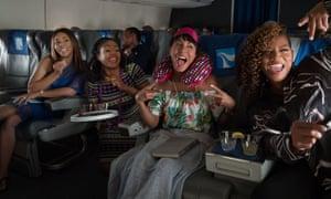 Regina Hall, Tiffany Haddish, Jada Pinkett Smith and Queen Latifah in Girls Trip